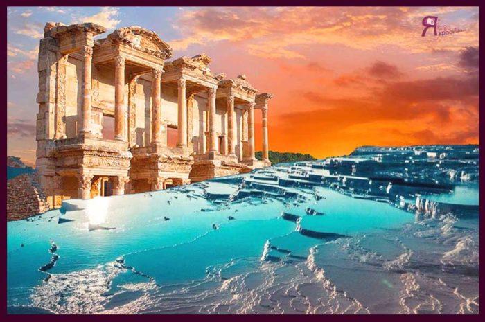 Турция : Экскурсия Памуккале